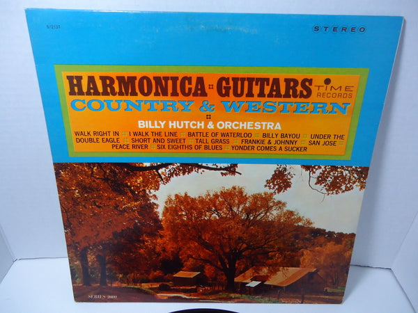 Billy Hutch & His Harmonica And Orchestra ‎– Harmonica Guitars Country & Western