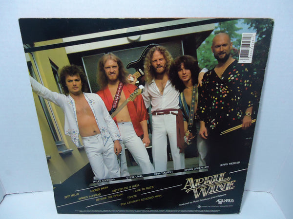 April Wine - Harder...Faster