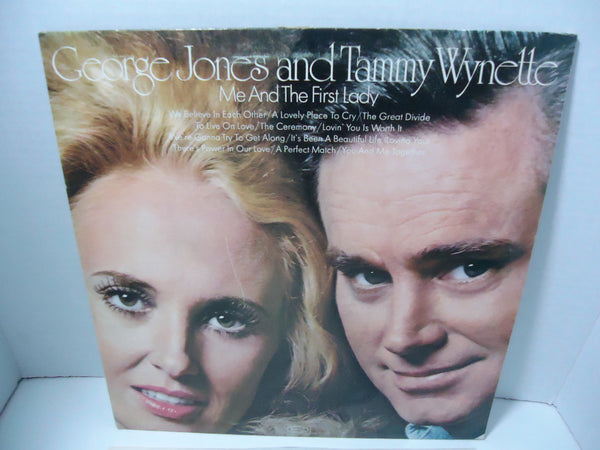 George Jones And Tammy Wynette ‎– Me And The First Lady
