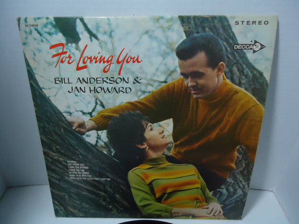 Bill Anderson And Jan Howard ‎– For Loving You