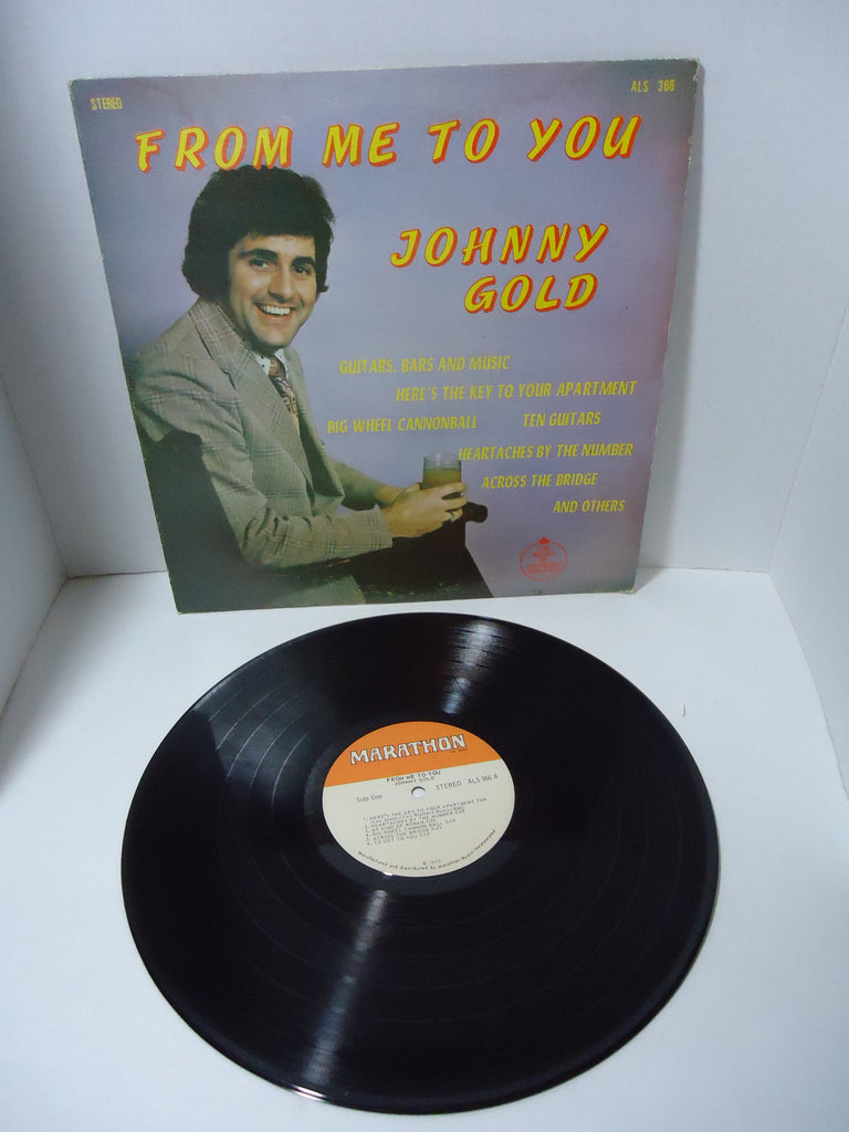 Johnny Gold - From Me To You