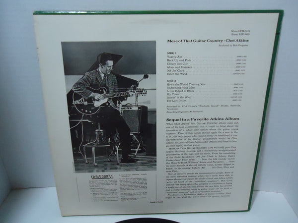 Chet Atkins ‎– More Of That Guitar Country [Mono]