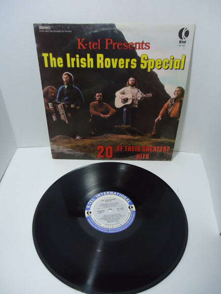 The Irish Rovers ‎– K-Tel Presents The Irish Rovers Special 20 Of Their Greatest Hits [K-Tel]