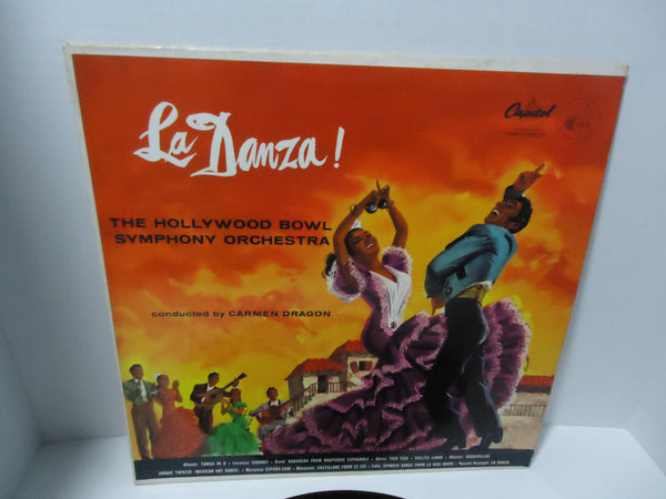 The Hollywood Bowl Symphony Orchestra ‎– La Danza! [Mono]
