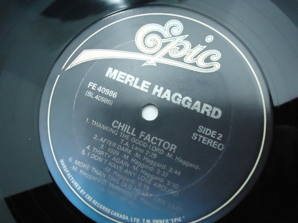 Merle Haggard ‎– Chill Factor