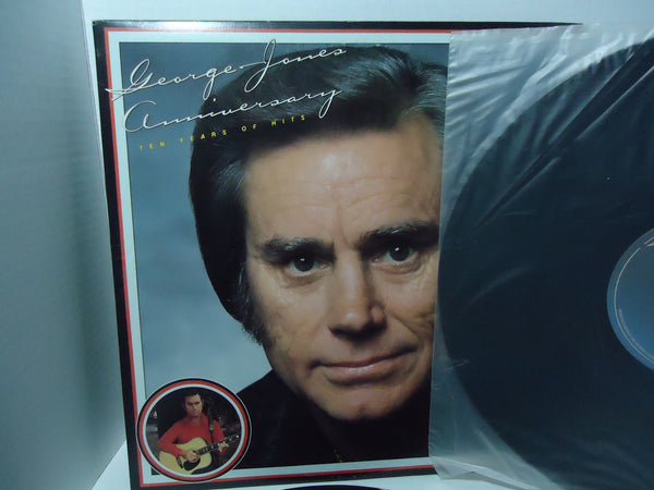 George Jones ‎– Anniversary - Ten Years Of Hits [Double LP] [Gatefold]