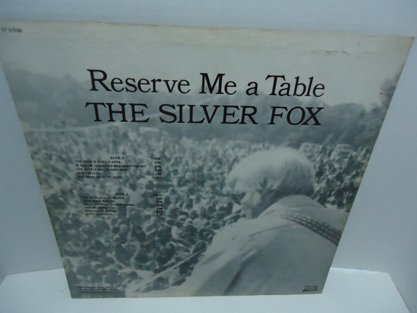 The Silver Fox ‎– Reserve Me A Table