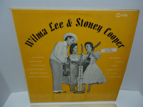 Wilma Lee & Stoney Cooper ‎– Clinch Mountain Jamboree