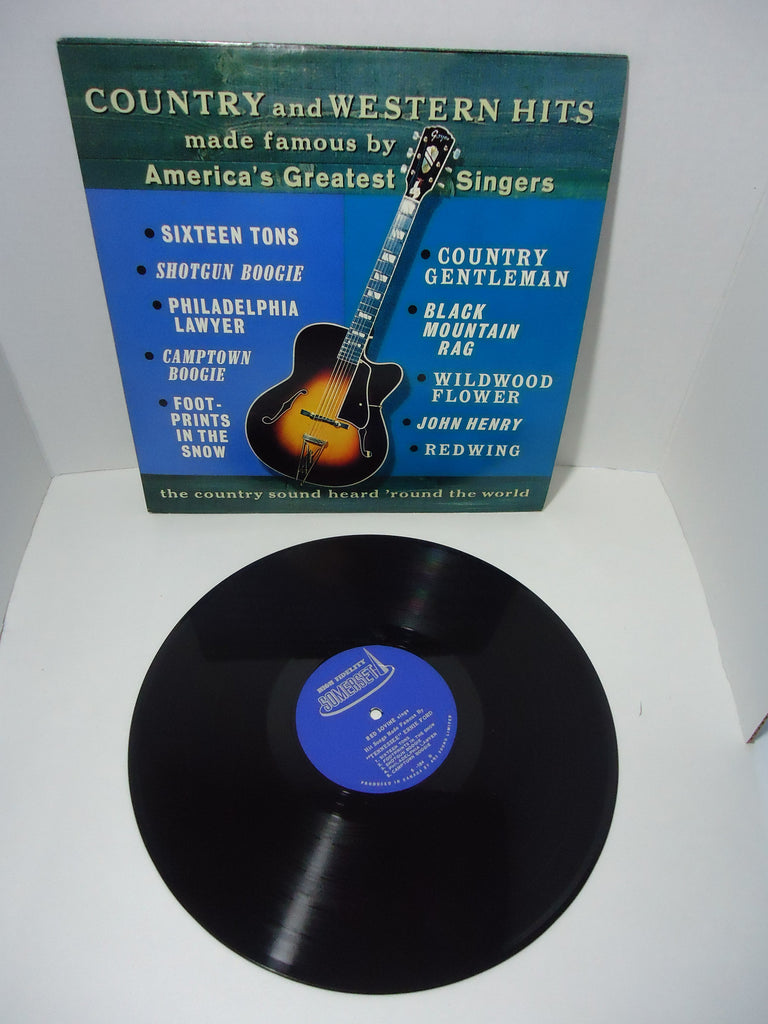 Various Artists - Country And Western Hits Made Famous By America's Greatest Singers