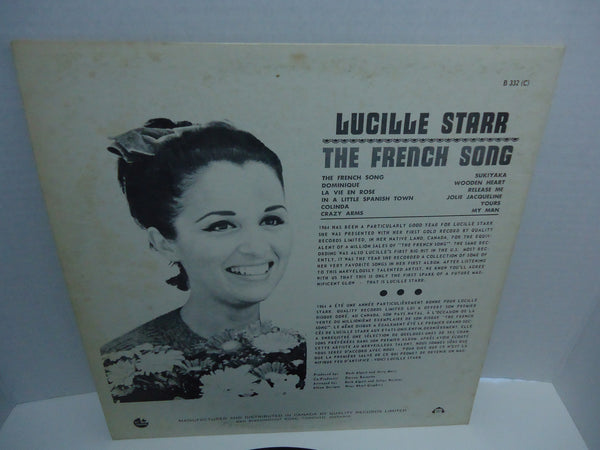 Lucille Starr ‎– The French Song [Mono]