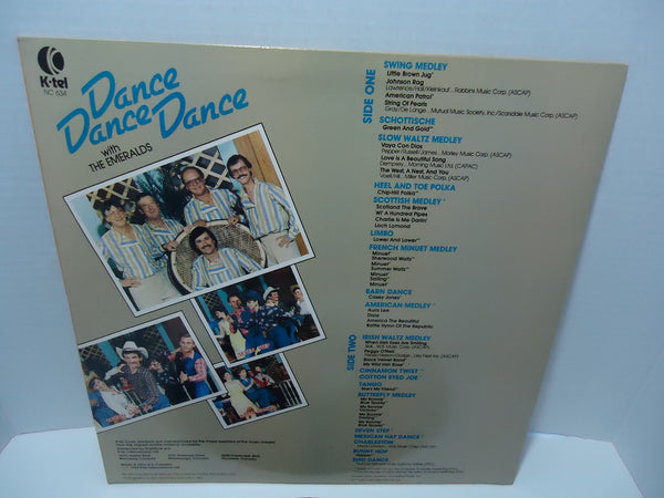 The Emeralds ‎– Dance Dance Dance With The Emeralds [K-Tel]