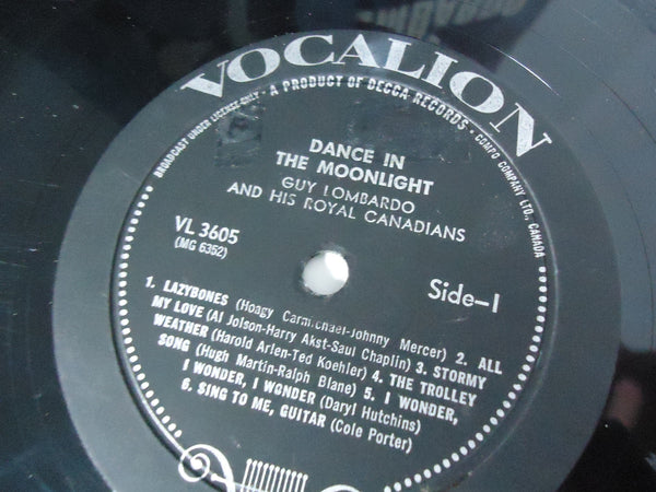Guy Lombardo And His Royal Canadians ‎– Dance In The Moonlight... [Re-issue]