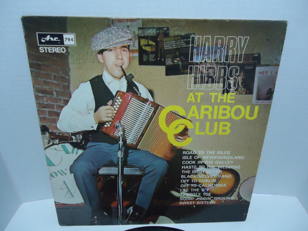 Harry Hibbs ‎– At The Caribou Club