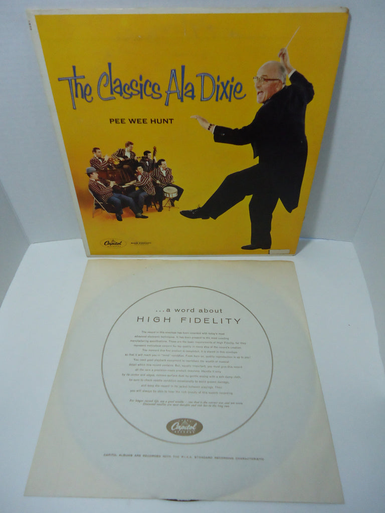 Pee Wee Hunt ‎– The Classics Ala Dixie