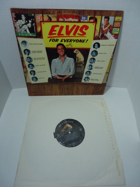 Elvis Presley ‎– Elvis For Everyone! [Mono]