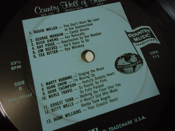 Various Artists - Famous Original Hits By 25 Great Country Music Artists