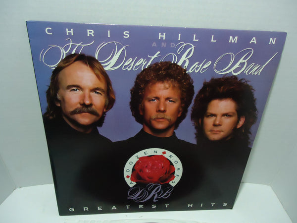 Chris Hillman And The Desert Rose Band ‎– A Dozen Roses: Greatest Hits