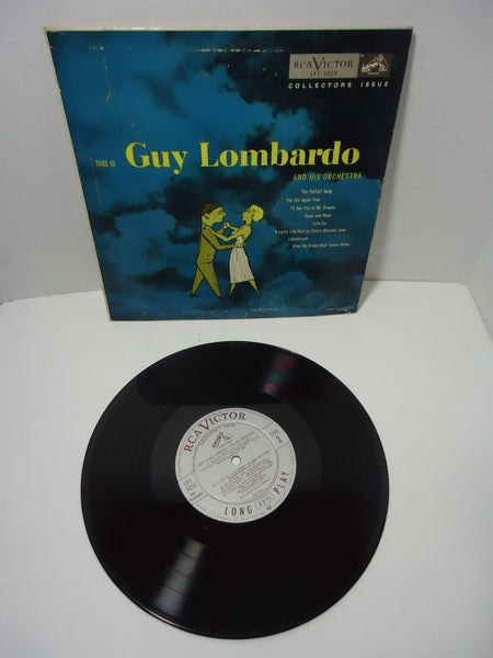 "Guy Lombardo And His Orchestra ‎– This Is Guy Lombardo And His Orchestra [10""]"
