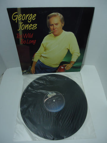 George Jones ‎– Too Wild Too Long