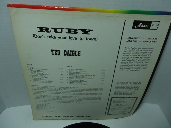 Ted Daigle ‎– Ruby (Don't Take Your Love To Town)