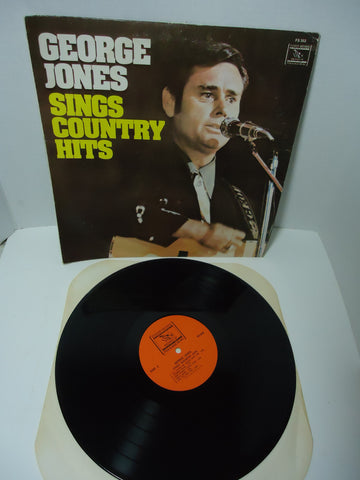 George Jones ‎– Sings Country Hits