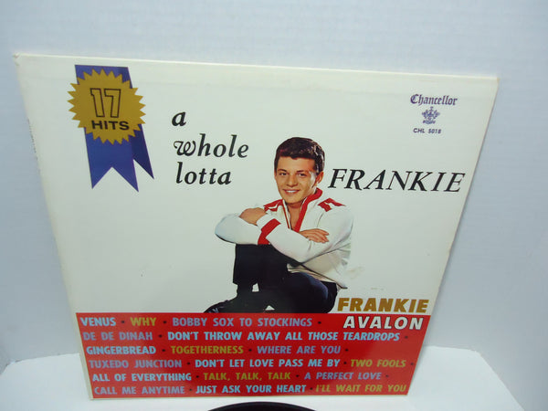 Frankie Avalon ‎– A Whole Lotta Frankie [Mono]