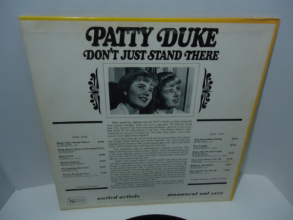 Patty Duke ‎– Don't Just Stand There [Mono]