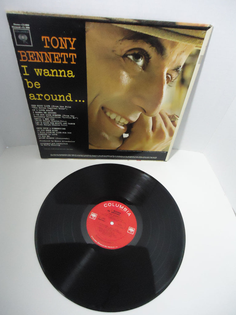 Tony Bennett ‎– I Wanna Be Around... [Mono]