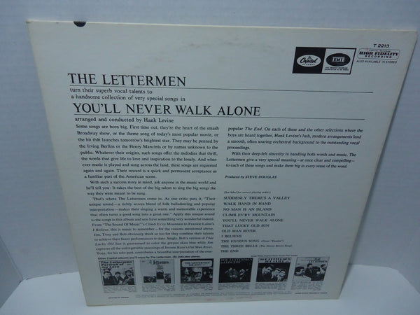 The Lettermen ‎– You'll Never Walk Alone [Mono]