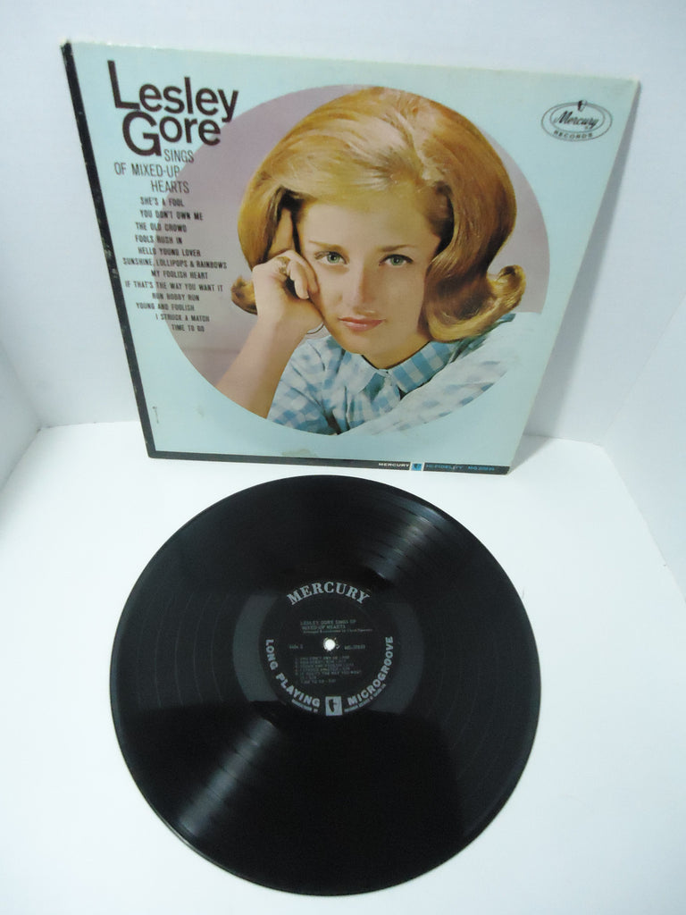 Lesley Gore ‎– Lesley Gore Sings Of Mixed-Up Hearts