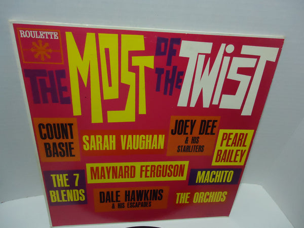 Various Artists ‎– The Most Of The Twist [Mono]
