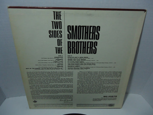 Smothers Brothers ‎– The Two Sides Of The Smothers Brothers [Mono]