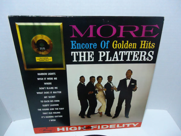 The Platters ‎– More Encore Of Golden Hits [Mono]