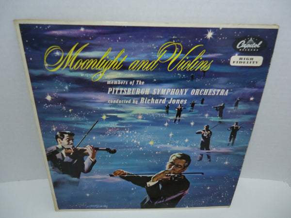 "The Pittsburgh Symphony Orchestra ‎– Moonlight And Violins [10""] [Mono]"