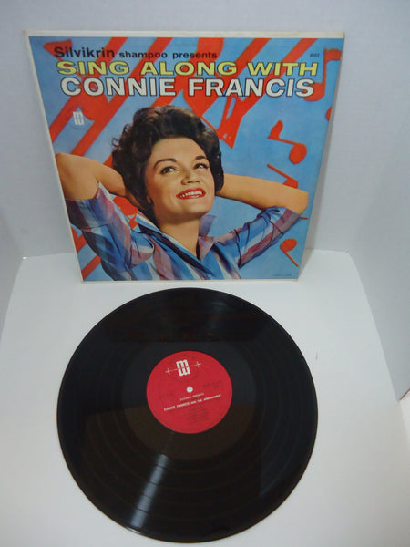 Connie Francis ‎– Sing Along With Connie Francis [Canadian Release]