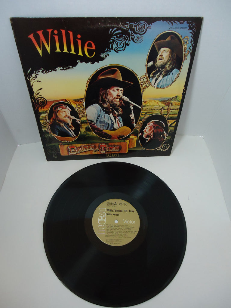 Willie Nelson ‎– Willie: Before His Time