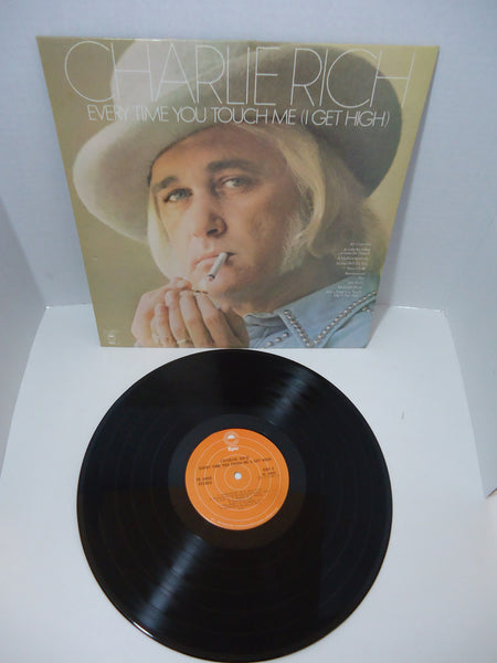 Charlie Rich ‎– Every Time You Touch Me (I Get High)