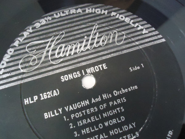 Billy Vaughn ‎– Songs I Wrote [Ultra High Fidelity]