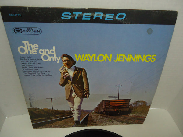 Waylon Jennings ‎– The One And Only Waylon Jennings