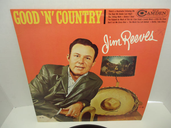 Jim Reeves ‎– Good 'N' Country [Mono]