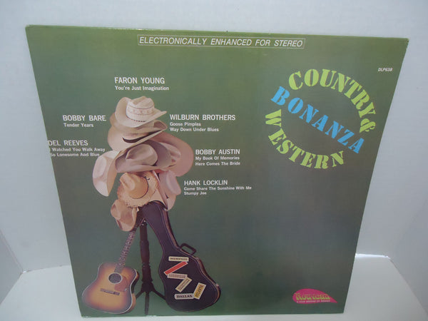 Various Artists ‎– Country And Western Bonanza