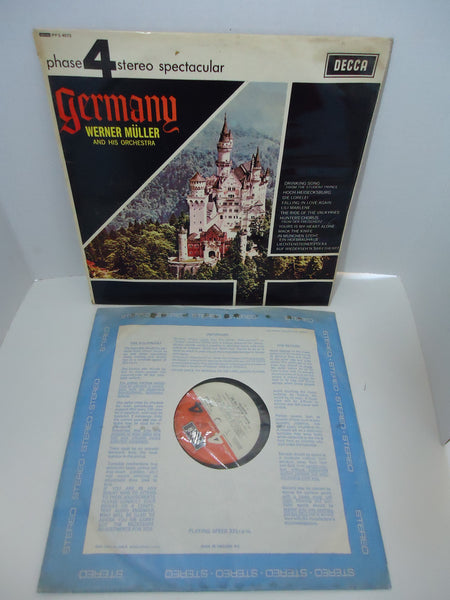 Werner Müller And His Orchestra ‎– Germany [Import]