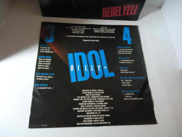 Billy Idol ‎– Rebel Yell