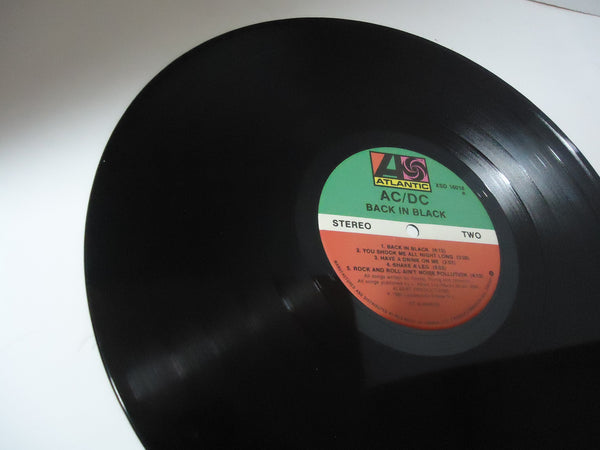 AC/DC ‎– Back In Black LP Green/Black