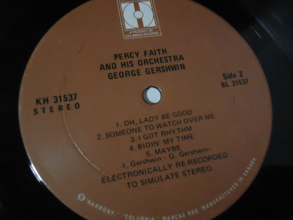 Percy Faith & His Orchestra ‎– George Gershwin