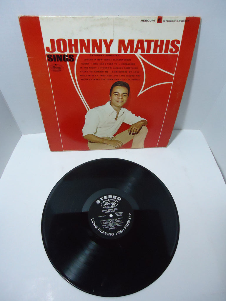 Johnny Mathis ‎– Johnny Mathis Sings