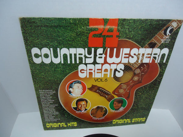 Various ‎Artists – 24 Country & Western Greats Vol. 6