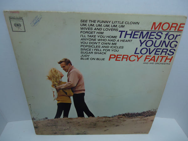 Percy Faith & His Orchestra ‎– More Themes For Young Lovers [Mono]