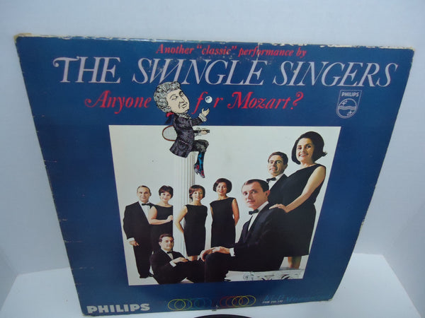 The Swingle Singers ‎– Anyone For Mozart? [Mono]