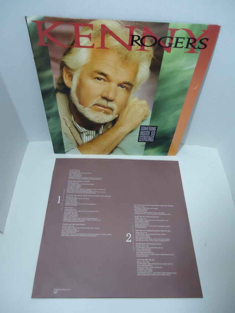 Kenny Rogers ‎– Something Inside So Strong Vinyl LP